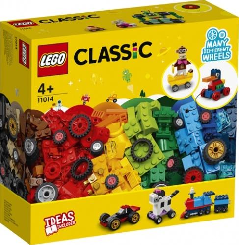 lego Lego classic stenen en wielen