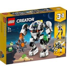 Lego Lego creator ruimtemijnbouw m