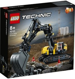 Lego Lego technic zware graafmachin