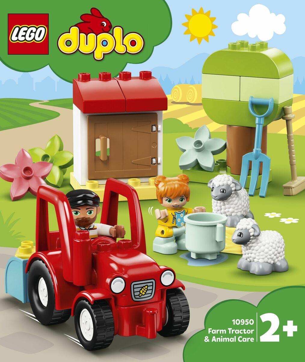 Lego duplo tractor+dieren verz