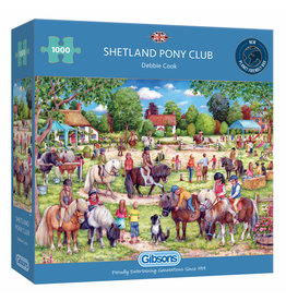 Gibsons Puzzel 1000 Stukjes - Shetland Pony Club