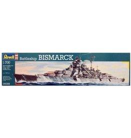 Revell Revell Boot Battleship Bismarck - Bouwpakket - 1:700