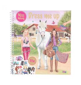 Miss melody Dress me up stickerboek