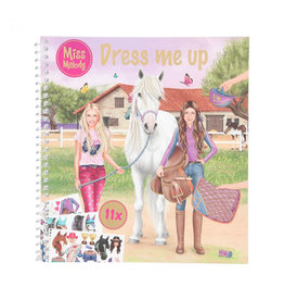Miss melody Miss melody Dress me up stickerboek