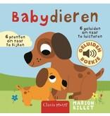 Clavis Babydieren geluidenboekje