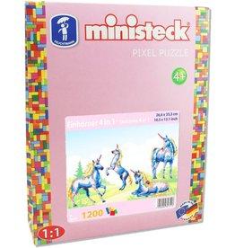 Ministeck Ministeck eenhoorn 4in1