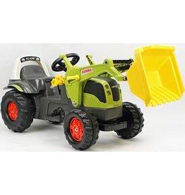 Rolly Toys Traptractor claas elios+frontl