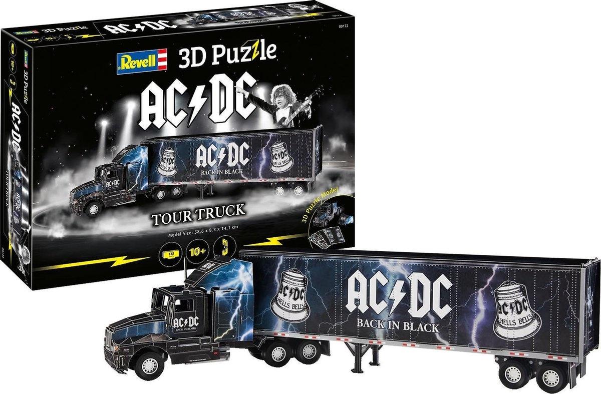 Revell 3-d puzzel ac/dc tour truck