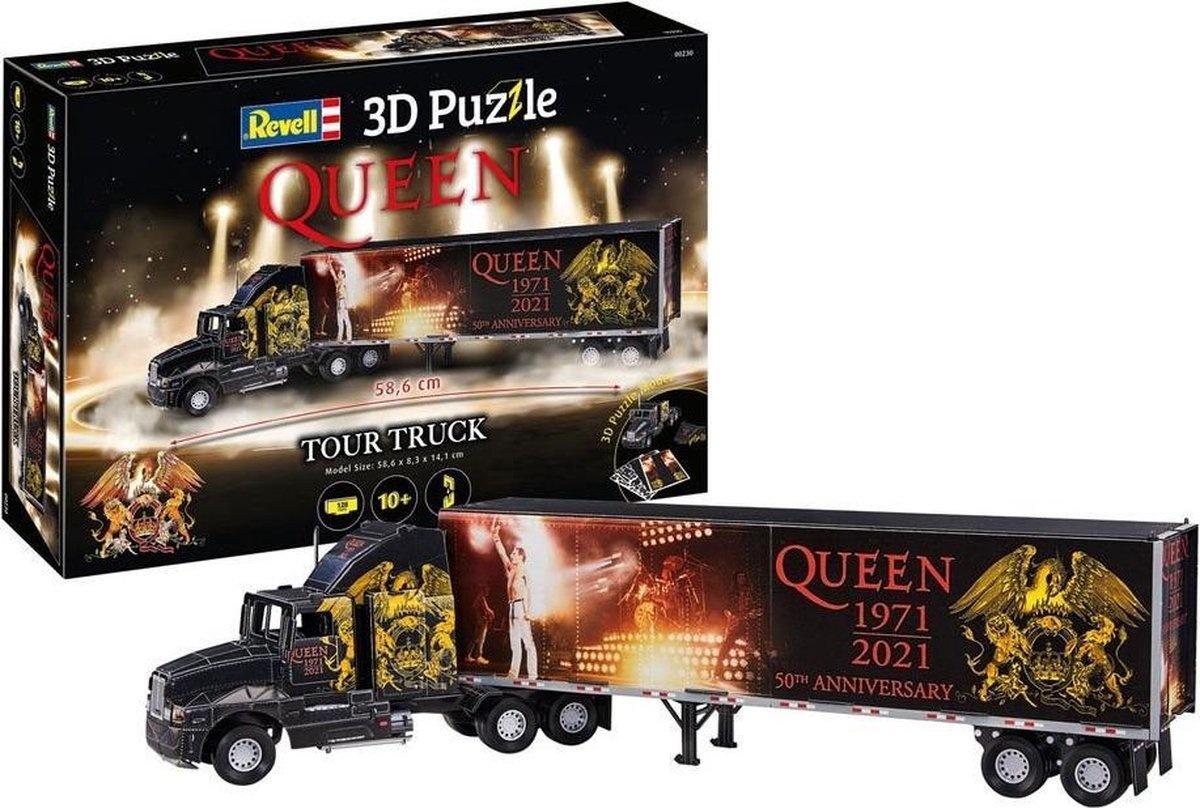 Revell 3-d puzzel queen tour truck 50 year anniversary
