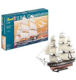 Revell Revell U.S.S. Constitution 1:146 Zeilschip Montagekit