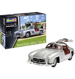 Revell Revell 07657 Mercedes Benz 300 SL Auto (bouwpakket) 1:12
