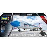 Revell Boeing 747-8f cargolux lx-vcf