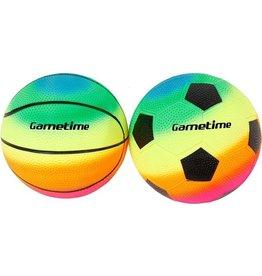 Voetbal/basketbal 2 in net 10m