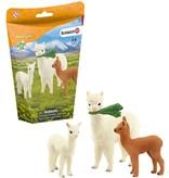 Schleich Dier alpaca familie wild life