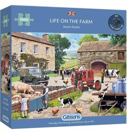 Gibsons Puzzel 1000 life on the farm