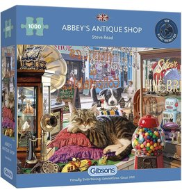 Gibsons Puzzel 1000 abbey's antique sh