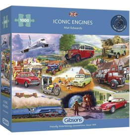 Gibsons Puzzel 1000 iconic engines