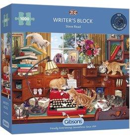 Gibsons Puzzel 1000 writer's block