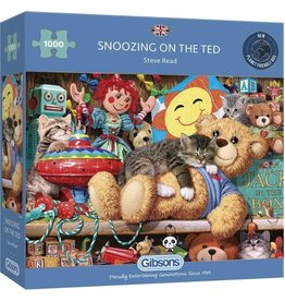 Gibsons Puzzel 1000 snoozing o the ted