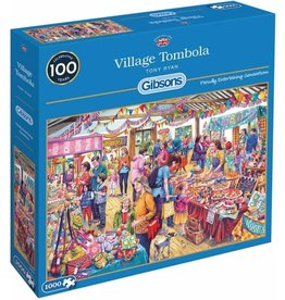 Gibsons Puzzel 1000 village tombola