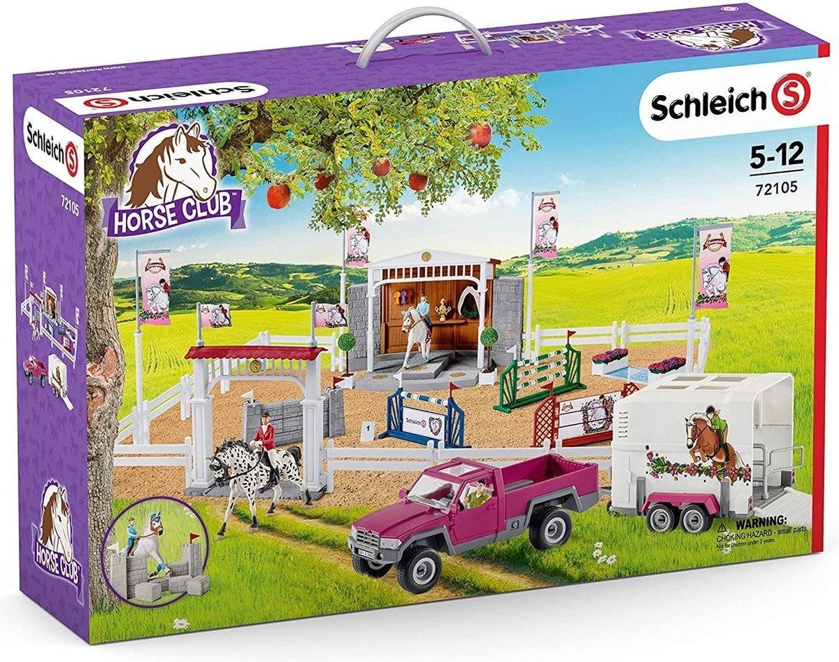 Schleich Horse club gr.rijtoer pickup