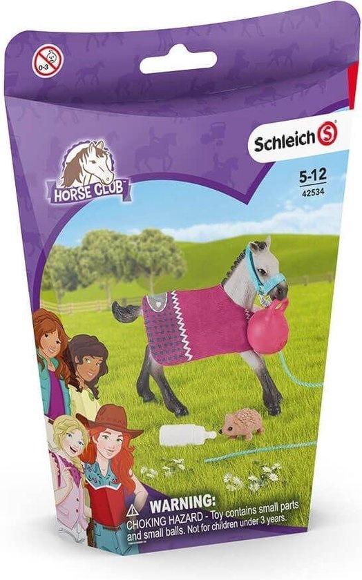 Schleich Horse club plezier met veulen