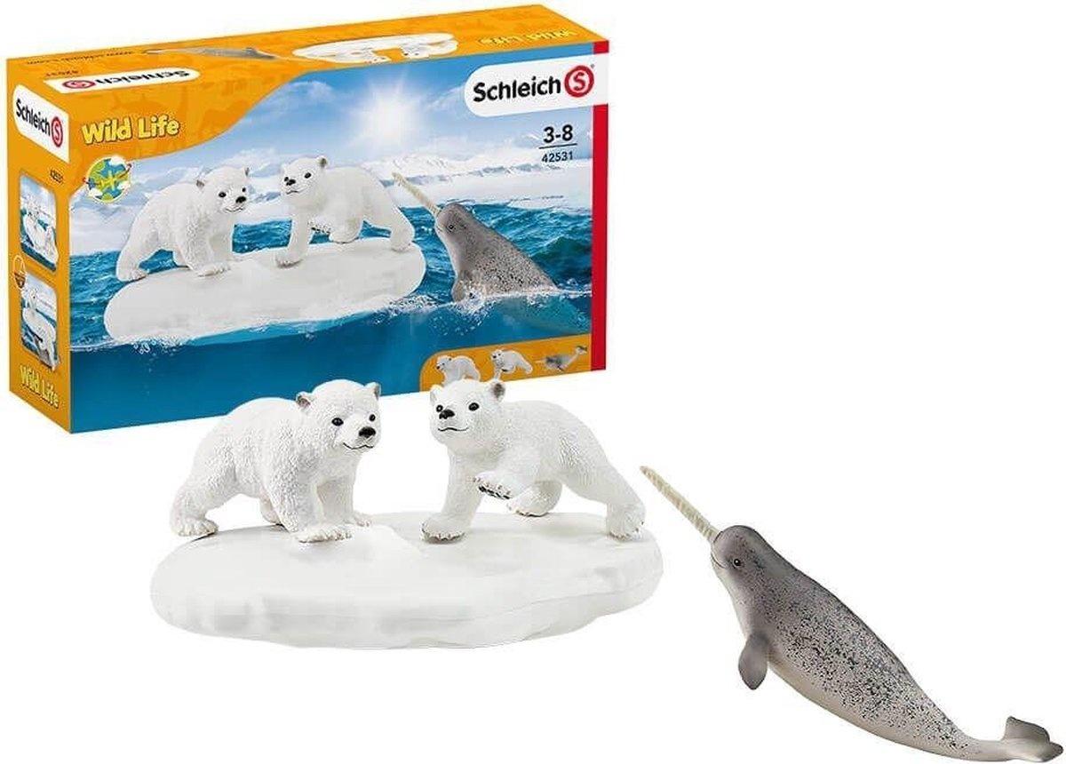 Schleich Ijsberen glijfeestje