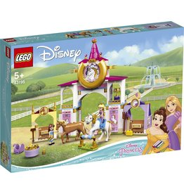 Lego Disney Belle en Rapunzel's koninklijke paardenstal
