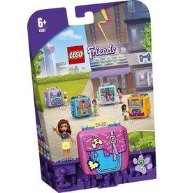 lego Lego friends olivias spelkubus