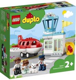 lego Lego duplo vliegtuig-luchthav