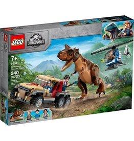 Lego Achtervolging van Dinosaurus Carnotaurus