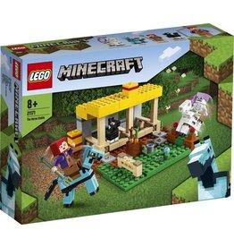 Lego Lego minicraft paardenstal
