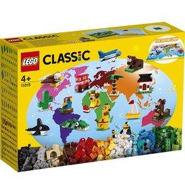Lego Lego classic rond de wereld