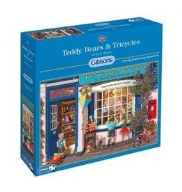 Gibsons Puzzel 500xl teddy bears&tricy