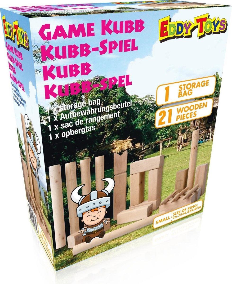Eddy Toys Kubb 25x5x5cm