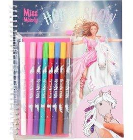 Miss melody Kleurboek mm met magic viltst.