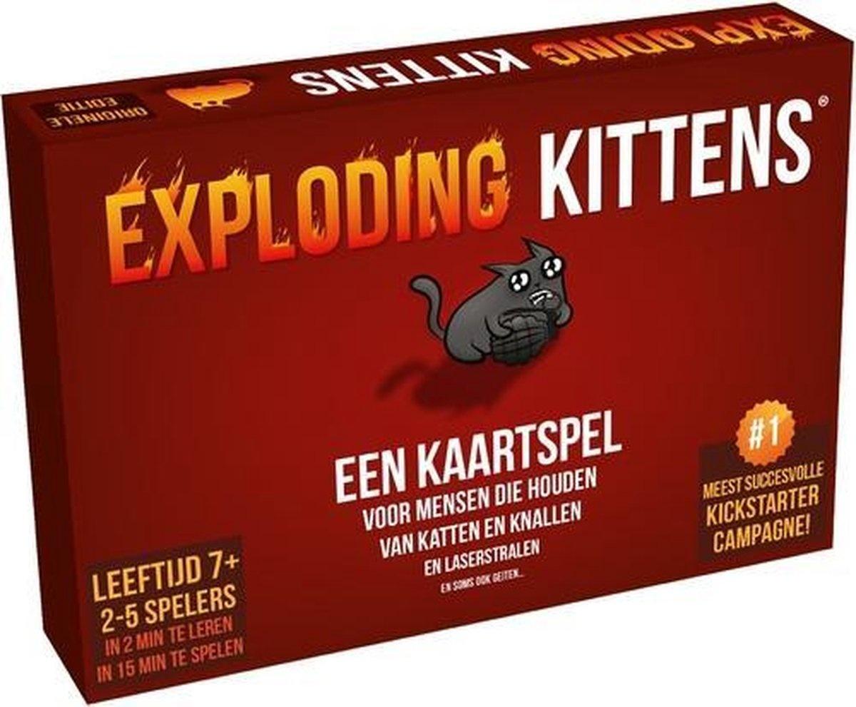 Asmodee Kaartspel exploding kittens