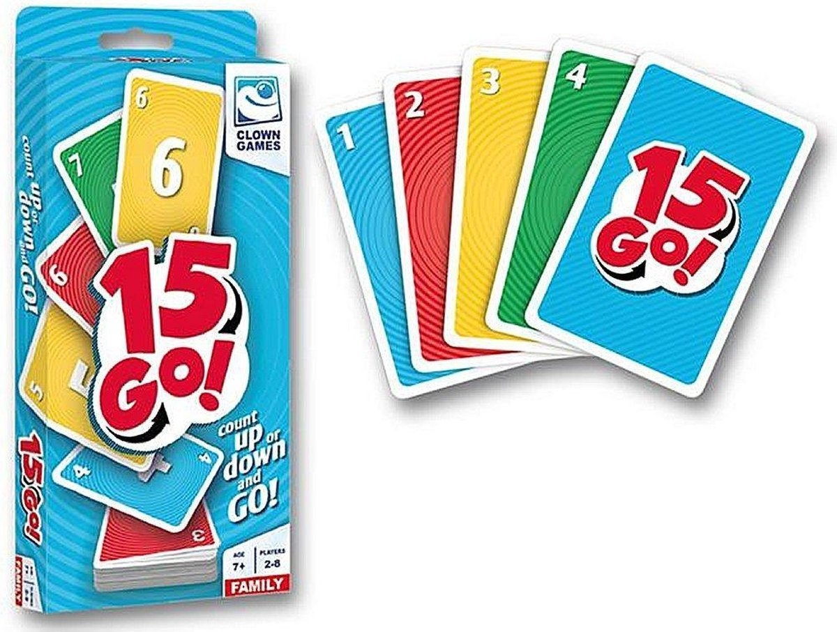 Clown games Kaartspel 15 go
