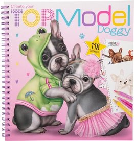Top Model Kleurboek doggy create topm.