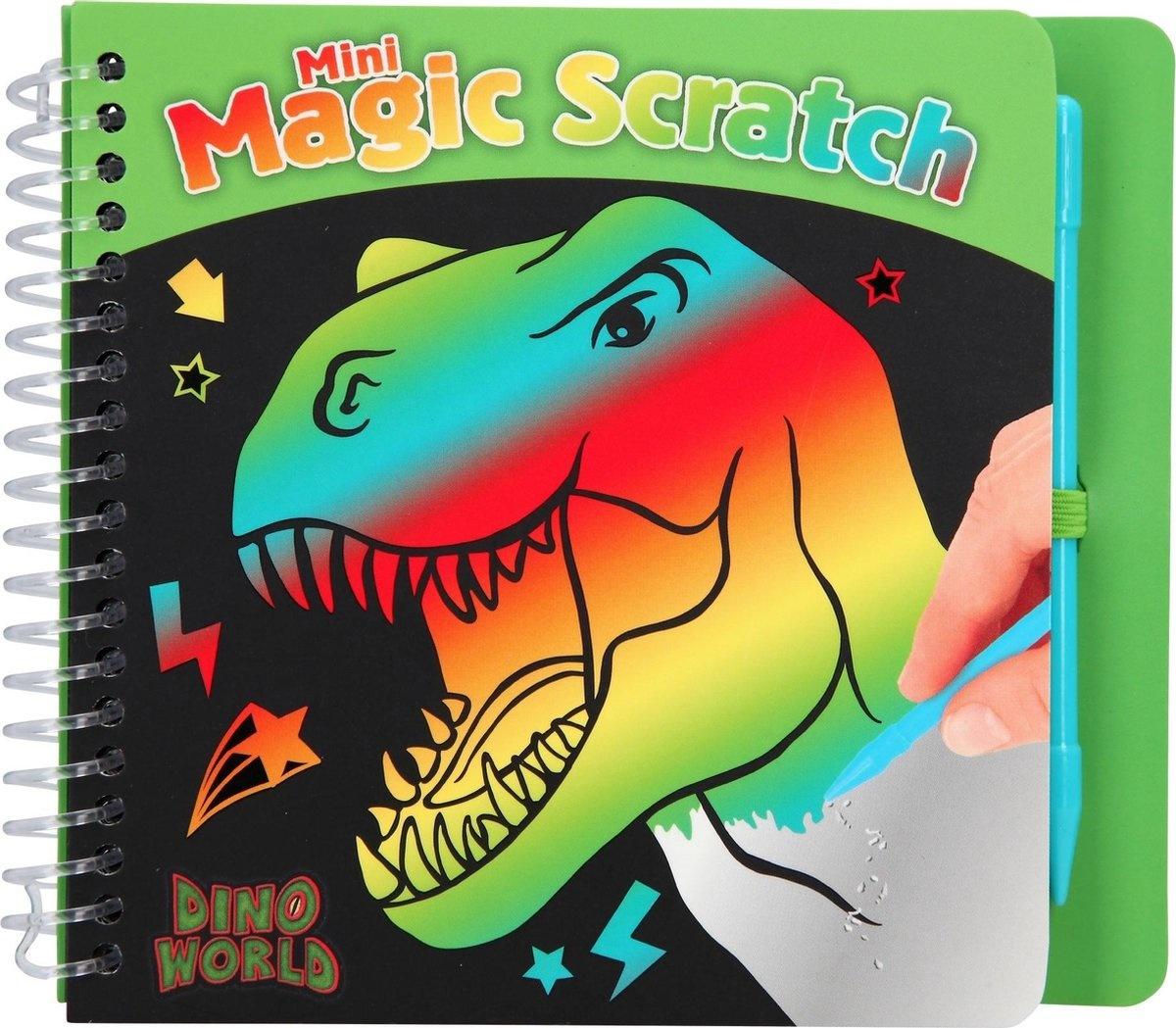 Dino World Boek magic scratch dino world
