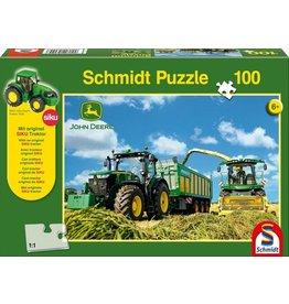 Schmidt Puzzel 100 tractor 7310r+hakse