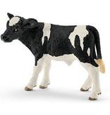 Schleich Dier koe zwartbont kalf