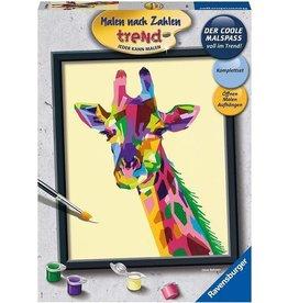 Ravensburger Schilder Op Nummer Bonte Giraffe