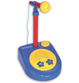 Bontempi Microfoon Bontempi Star incl. statief - Speelgoedmicrofoon