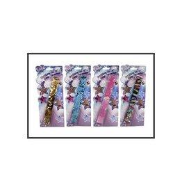 van Manen Klaparmband pailletten 21,5cm