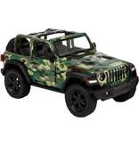 van Manen Jeep wrangler military