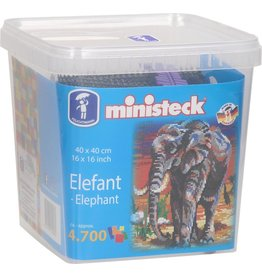Ministeck Ministeck olifant 4700