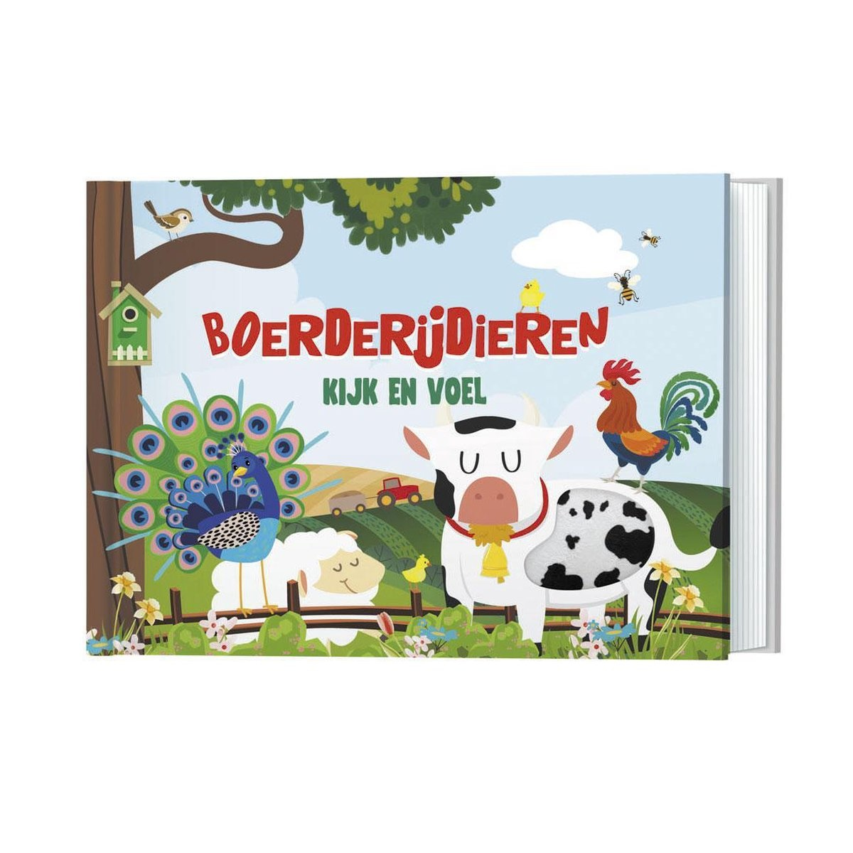 Fiona Huisman Kijk en voel boerderijdieren