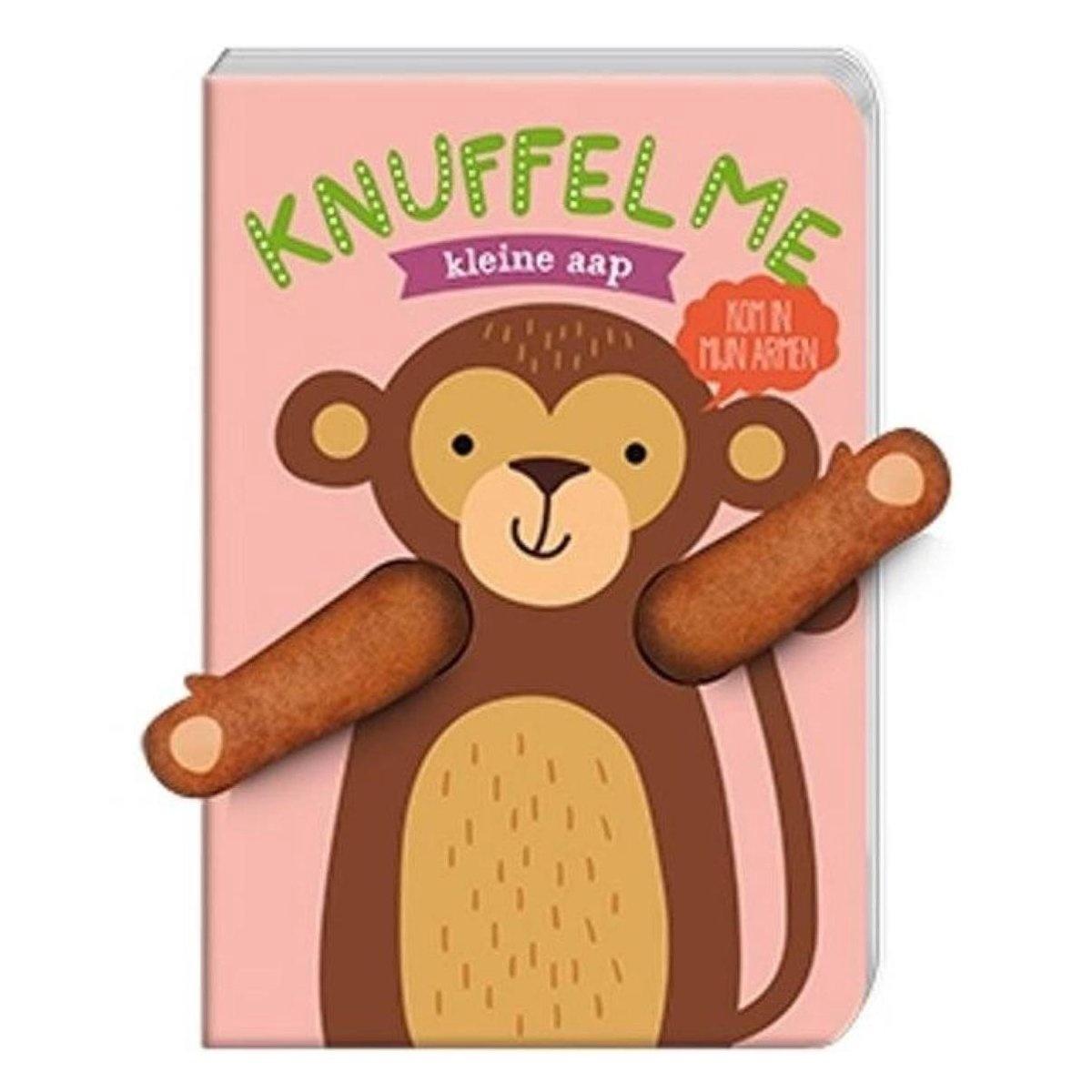 Imagebooks factorie Knuffel me kleine aap