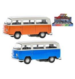 van Manen VW T2 bus pull back 12cm die cast